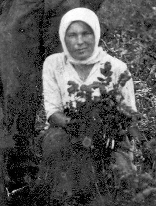Таисья Яковлевна Пахомычева (Репьева)