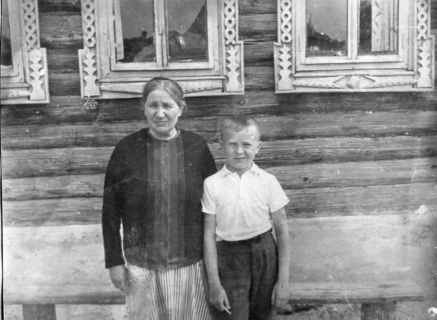 Наталья Ускова и Вова Усков
