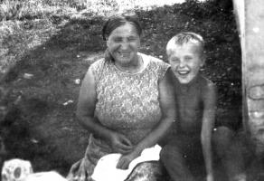 Наталья Халезова (Ускова) и Вова Усков