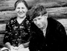 Фома Михайлович Усков и Наталья Ивановна Ускова (Халезова)