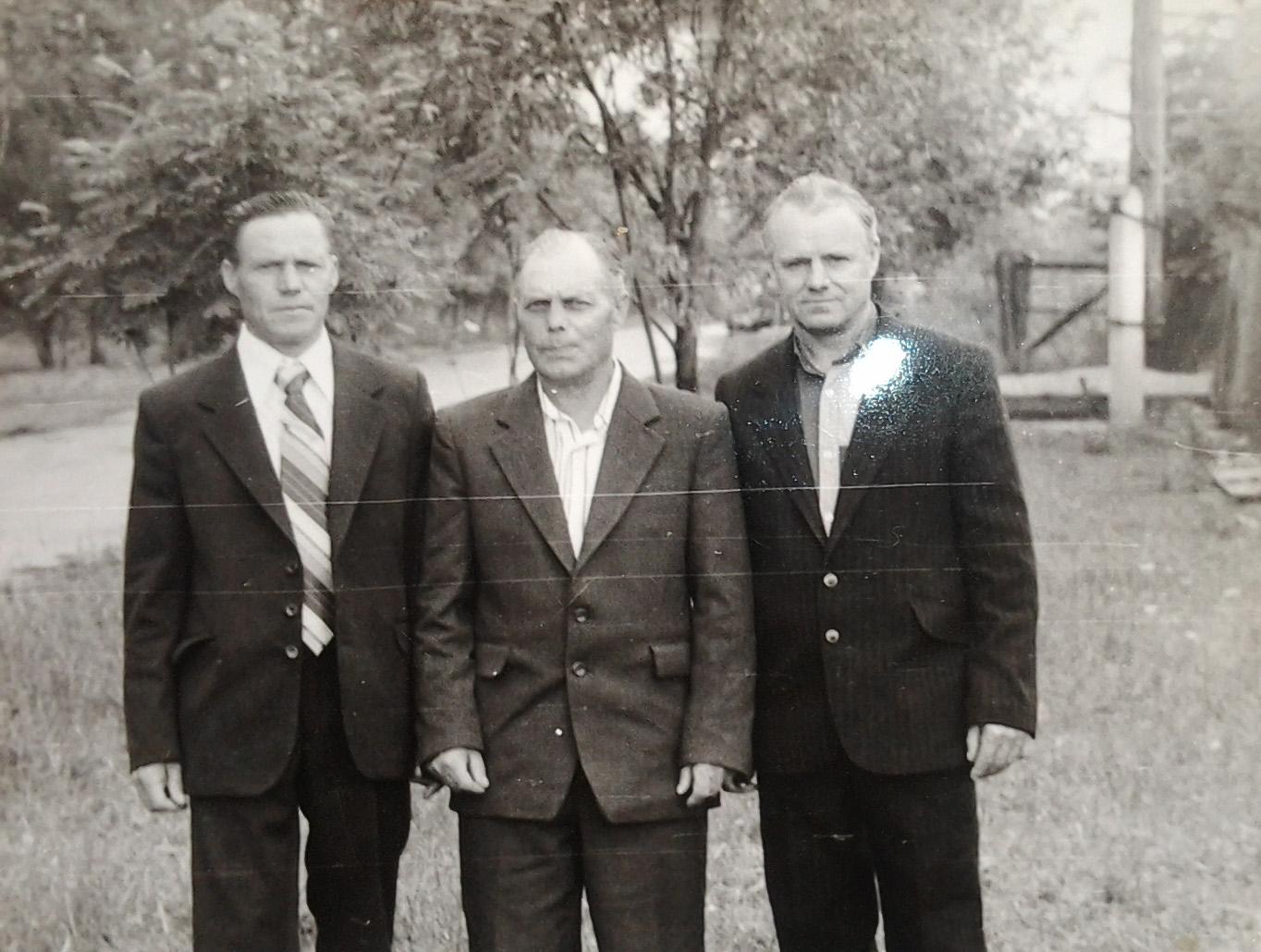 Кузьма Степанович Ерошин с братьями
