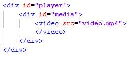 пример использования тега video