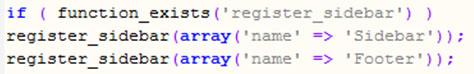 поддержка виджетов в functions