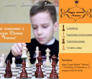 Студия шахмат чемпион