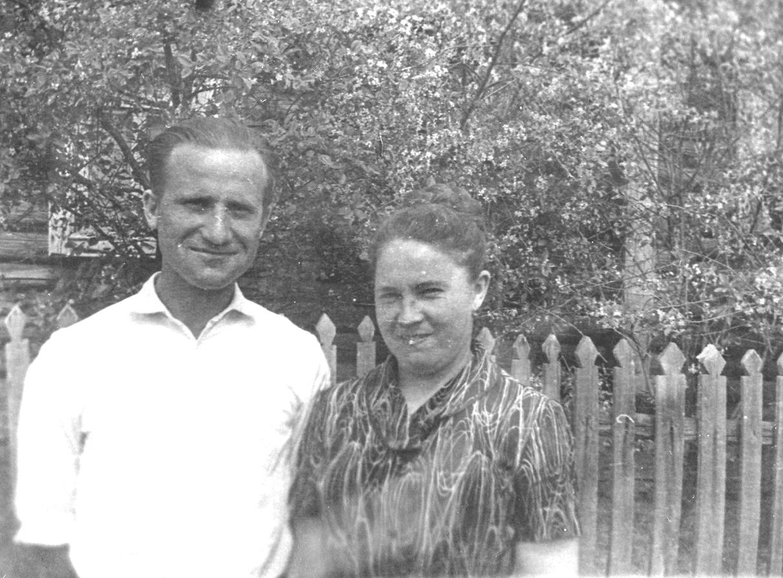 Усковы: Юрий Фомич и Вера Павловна